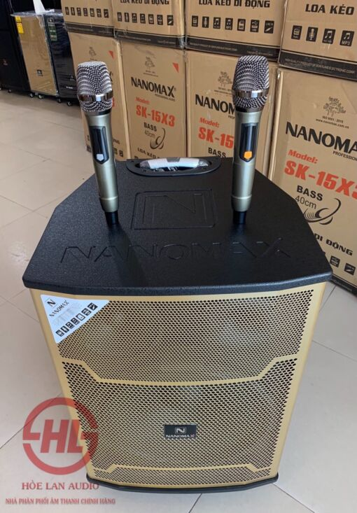 LOA KÉO NANOMAX SK-15X3