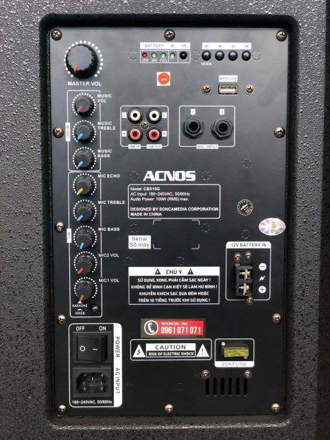 Loa kéo acnos CBX 15G